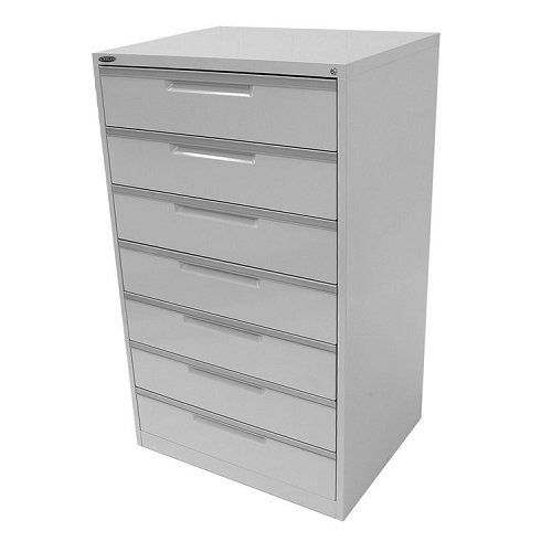 Steelco CD-DVD Multimedia 7 Drawer Cabinet  sc 1 st  iOffice Furniture Sydney : cd drawer cabinet - Cheerinfomania.Com