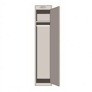 Steelco Personal Metal Locker 1 door