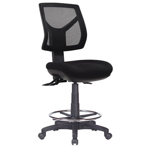 Rio Med Mesh Back Drafting Chair