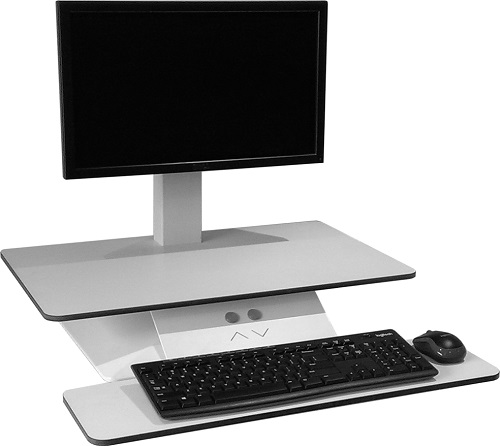 Standesk Electric Sit Stand Ergonomic Keyboard Workstation