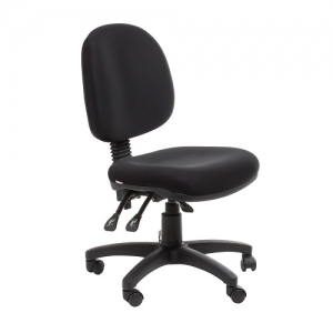 Bega Ergonomic Task 3 Lever Office Chair - Fabric Colour Black