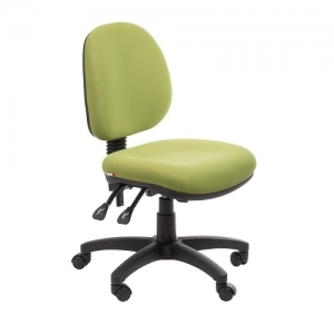 Bega Ergonomic Task 3 Lever Office Chair - Fabric Colour Green