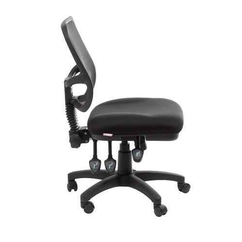 black fabric plastic mesh ergonomic office. Eden Medium Mesh Back Ergonomic Office Chair Black Fabric Plastic