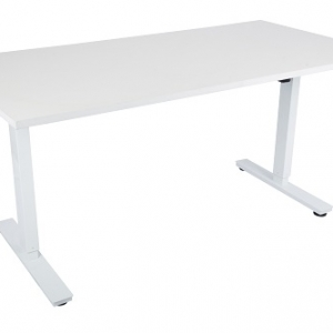 Liz Sit Stand Electic Desk with USB Port Hub