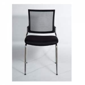 Mackay Visitors Mesh Back Black 4 Leg Office Chair