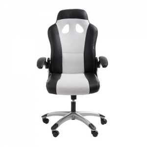 Racer Office Chair Black & White | iOffice Furniture