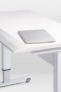 Airo 1200 Height Adjustable Desk - Sharknose Edge
