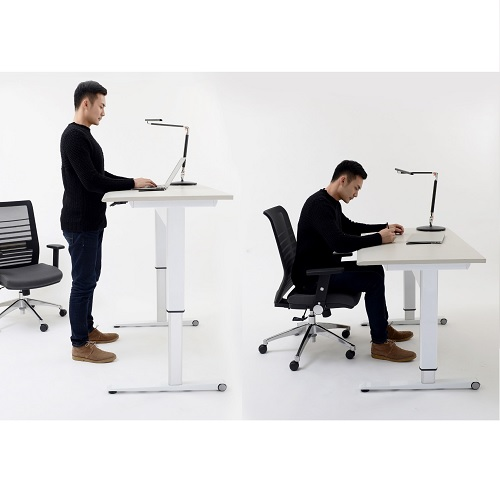 Airo 1200 Height Adjustable Desk Sit-Stand Position