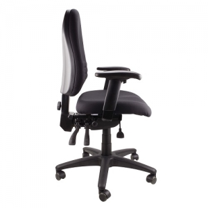 Endeavour AFRDI Approved Ergonomic MB Chair with Arms Black