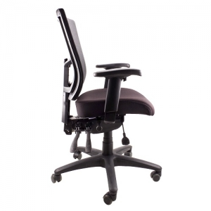 Madrid AFRDI Approved Fully Ergonomic Mesh MB Chair with Arms Black