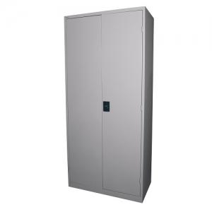 Steelco Stationery Storage Cabinet 2000H x 914W x 465D - Silver Grey