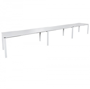 Runway Table 4500L-5400L x 750D White