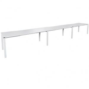 Runway Table 4500L-5400L x 750D White
