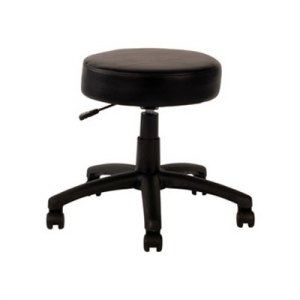 Utility Stool Gas Lift Black PU