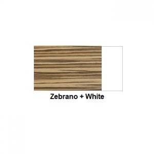 Colour Zebrano + White