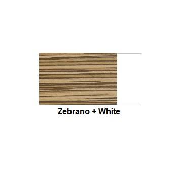 Zebrano + White | iOffice Furniture Sydney