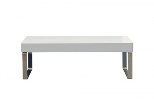Cube Coffee Table White Gloss 1000 x 600
