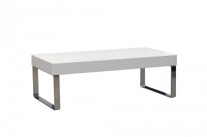 Cube Coffee Table White Gloss