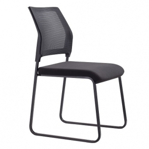 NEO Visitors Sled Base Chair Black