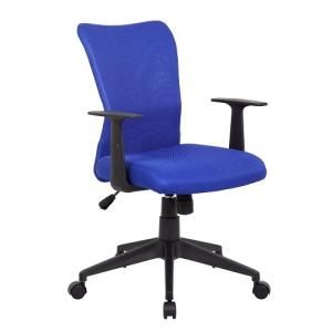 YS01 Ashley Blue Fabric Office Chair
