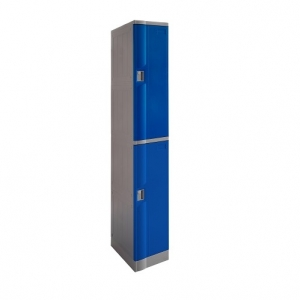 ABS Plastic Locker 2 Doors