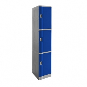 ABS Plastic Locker 3 Doors