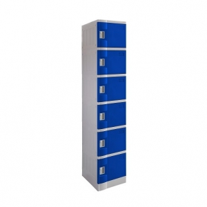 ABS Plastic Locker 6 Doors