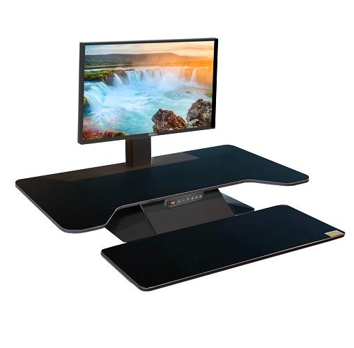 Ergonomic Keyboard Workstation : standesk pro memory electric sit stand ergonomic keyboard workstation add on i office ~ Hamham.info Haus und Dekorationen