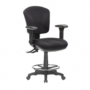 Aqua Med Back 3 Lever Drafting Chair with arms