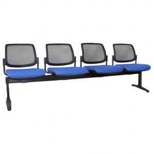 Maxi Fabric Mesh Back Beam 4 Seater