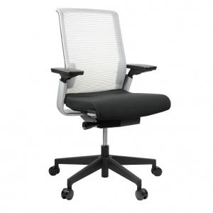 Match Silver Mesh Back Chair