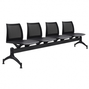Vinn Poly Mesh Back Beam 4 Seater