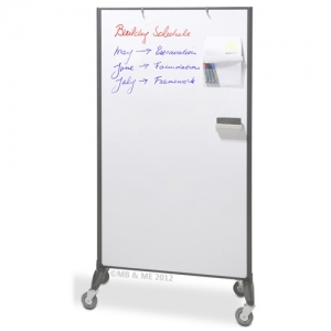 Communicate Room Divider Whiteboard