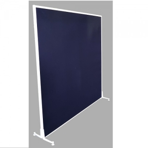 Freestanding Acoustic Screen White Frame
