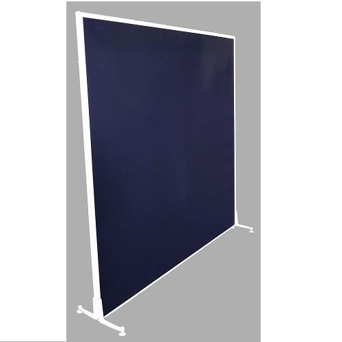 Freestanding Acoustic Screen White Frame
