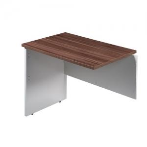 Essentials Premier Open Desk Return Casnan-White