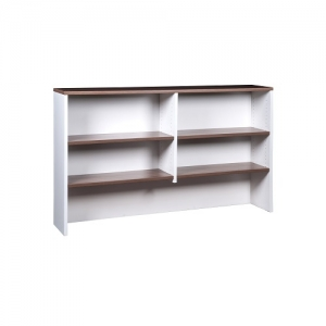 Essentials Premier Overhead Hutch Casnan-White