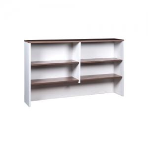 Essentials Premier Overhead Hutch Casnan-White