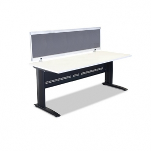 Jet Desk Black with White Top + Screen