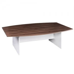 ssentials Premier Boardroom Table 2400W Casnan-White