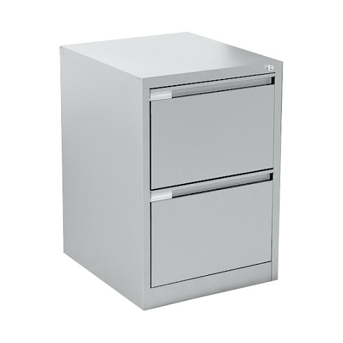 Mercury Two Drawer Steel Filing Cabinet