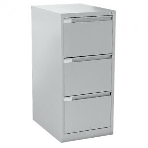 Mercury Three Drawer Steel Filing Cabinet