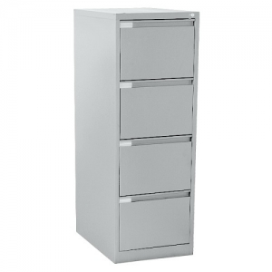 Mercury Four Drawer Steel Filing Cabinet