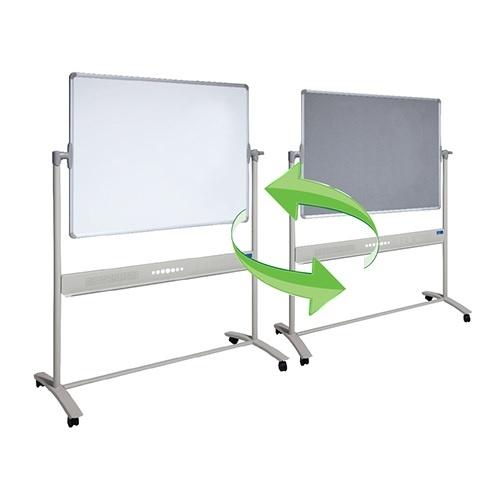 Mobile Combo Whiteboard & Fletboard