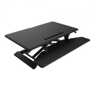 Ace DeskRiser Medium Black Sit & Stand Workstation