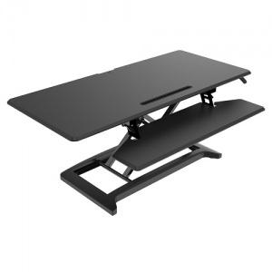 Ace DeskRiser Large Black Sit & Stand Workstation