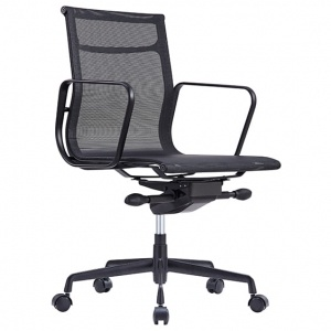 Volt Designer Meeting Office Chair - Black Mesh