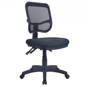 Aero Medium Mesh Back Ergonomic Office Chair Black YS120
