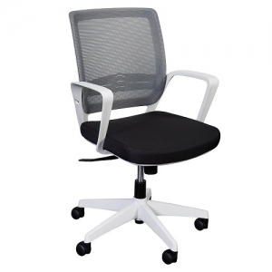 Alamo Task Mesh Back Office Chair Black/White frame YS0232