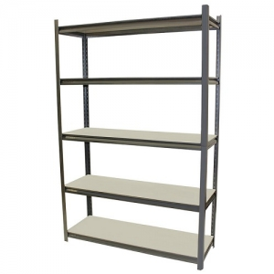 Stallion Shelving Boltless 1800H x 1200W x 400D with 5 Shelves